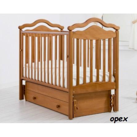 Детская кроватка с универсальным маятником Анжелика