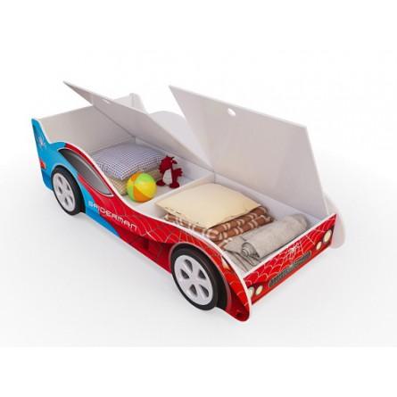 Кровать-машина с ящиками Пятая точка