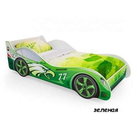 """Кровать-машина Пятая точка """"Зеленая"""""""