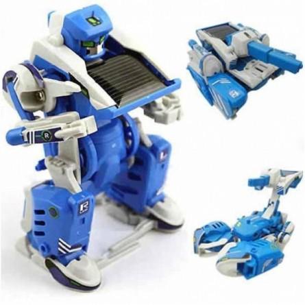 Робот-трансформер 3 в 1 на солнечной батарее