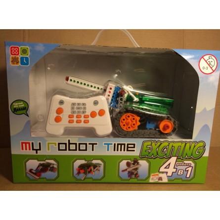 Конструктор-робот MRT exciting 8 роботов + пульт