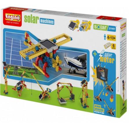 Конструктор Engino Механизмы серия Солнечная Энергия (6 в 1)