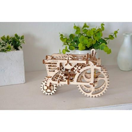 Деревянный конструктор UGEARS - трактор