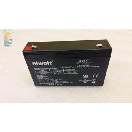 Аккумулятор для детского электромобиля 6V-7AH