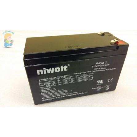 Аккумулятор для детского электромобиля 12V-7AH