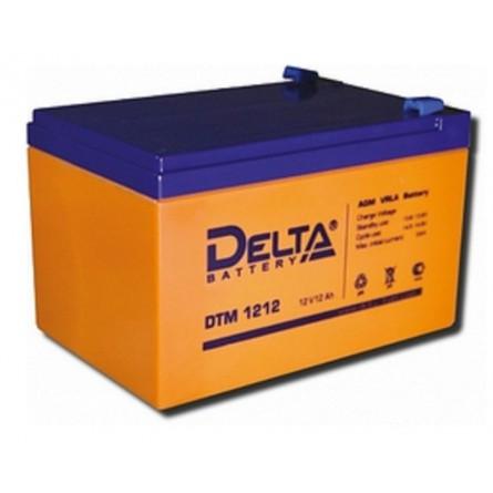 Аккумулятор для детского электромобиля Delta DTM 1212 (12V / 12Ah)