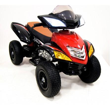 Детский электроквадроцикл Е005КХ-A надувные колеса