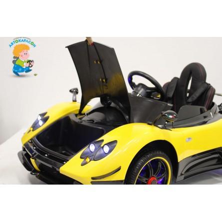Детский электромобиль Pagani A009AA жёлтый