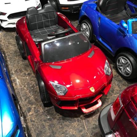 Детский электромобиль Porsche Sport mini BBH1188 красный глянец