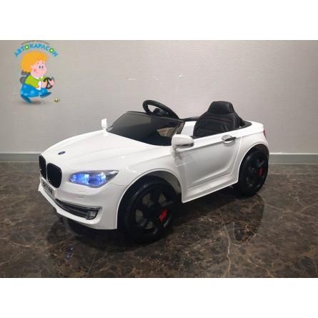 Детский электромобиль BMW 5 белый