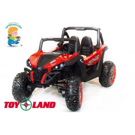Детский электромобиль Buggy XMX 603 красная паутина