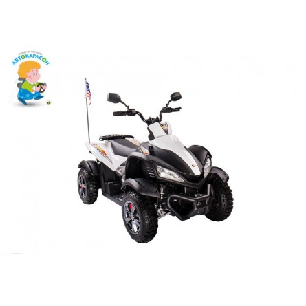 Детский квадроцикл квадроцикл DMD-A 268 белый