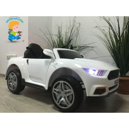 Детский электромобиль Ford Mustang белый