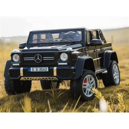 Детский электромобиль Mercedes-Benz Maybach G650 AMG чёрный