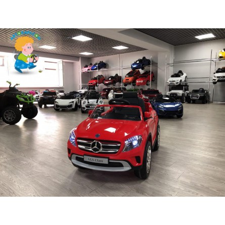 Детский электромобиль Mercedes-Benz GLA красный