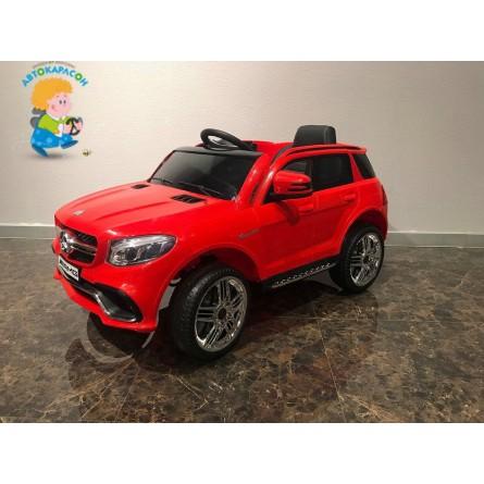 Детский электромобиль Mercedes-Benz GLE63S красный