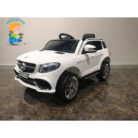 Детский электромобиль Mercedes-Benz GLE63S белый