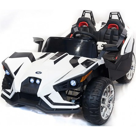 Детский электромобиль Buggy JC888 белый