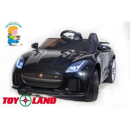 Jaguar F- type черный