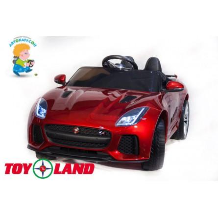 Jaguar F- type красный