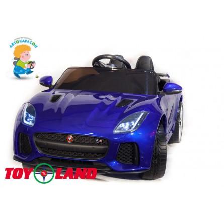 Jaguar F- type синий