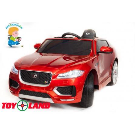 Jaguar F-PACE красный