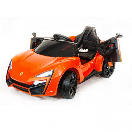 Детский электромобиль Lykan QLS 5188 4Х4 оранжевый