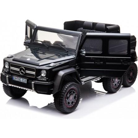 Детский электромобиль Mercedes Benz G63 6х6 черный