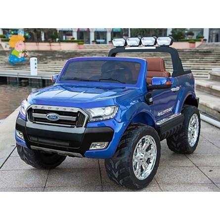 Детский электромобиль двухместный FORD RANGER 2017 4х4 с дисплеем