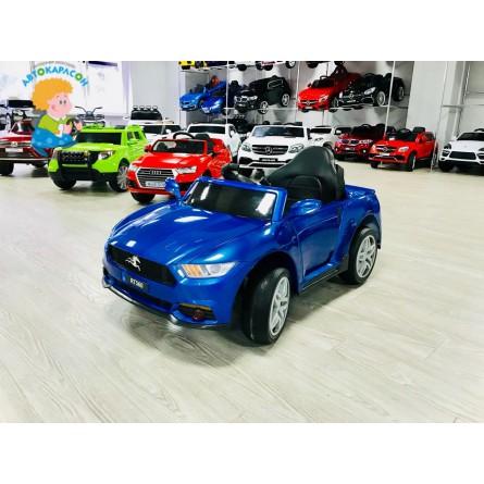 Детский электромобиль Ford Mustang синий