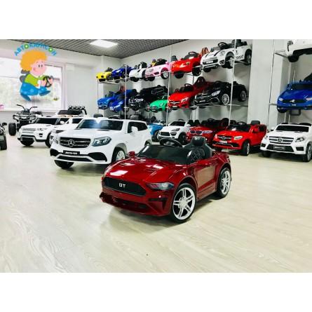 Детский электромобиль Ford GT красный краска