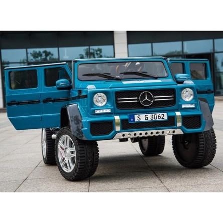 Детский электромобиль Mercedes-Benz Maybach G650 AMG синий