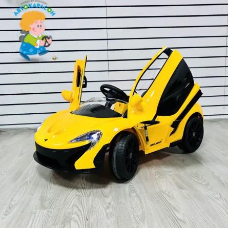 Детский электромобиль McLaren жёлтый