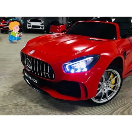Детский электромобиль Mercedes-Benz GT-R красный