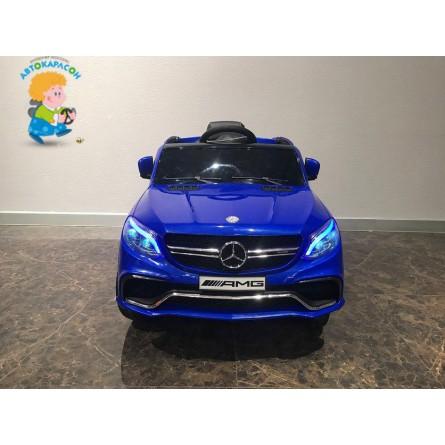 Детский электромобиль Mercedes-Benz GLE63S синий