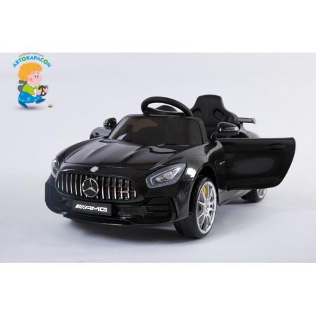 Детский электромобиль Mercedes-Benz GT-R чёрный