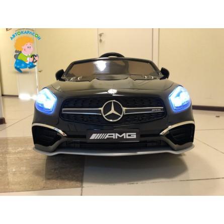Детский электромобиль Mercedes-Benz SL65 чёрный
