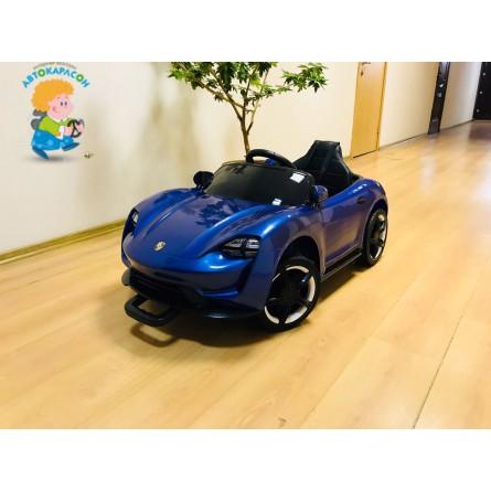 Детский электромобиль Porsche Sport QLS 8988 синий