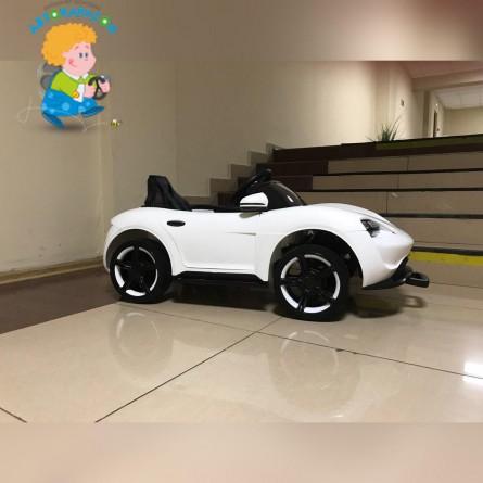 Детский электромобиль Porsche Sport QLS 8988 белый