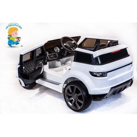 Детский электромобиль RR Sport Vip 0903 белый