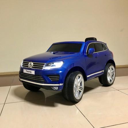Детский электромобиль Volkswagen Touareg синий