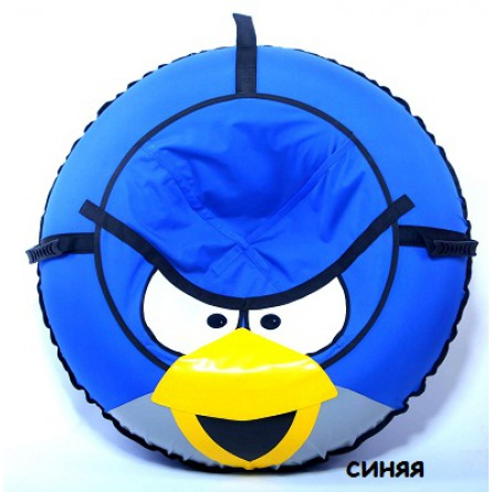 Санки-ватрушка Angry Bird 100cм