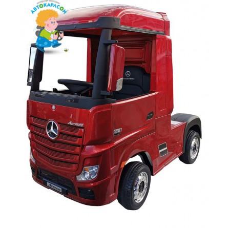 Mercedes-Benz Truck красный