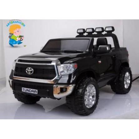 Детский электромобиль Toyota Tundra чёрная
