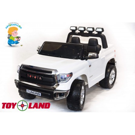 Детский электромобиль Toyota Tundra mini белая
