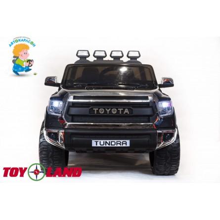 Детский электромобиль Toyota Tundra mini чёрная