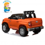 Детский электромобиль Toyota Tundra оранжевая